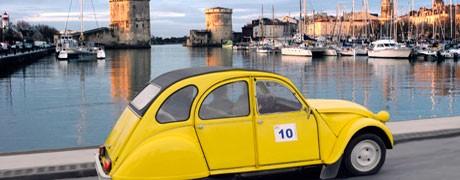Séminaire incentive rallye 2 CV La Rochelle - Ysséo Event agence événementielle La Rochelle