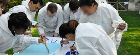 Team building peinture-Ysséo Event