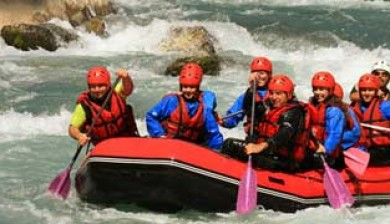 Team building rafting-Ysséo Event