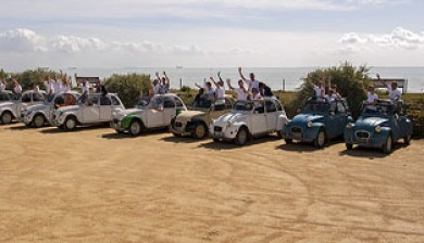 Team building Rallye 2CV-Ysseo Event
